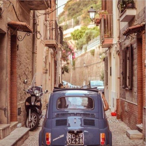 BezGranic Travel - Instagram - Włochy - FIAT 500