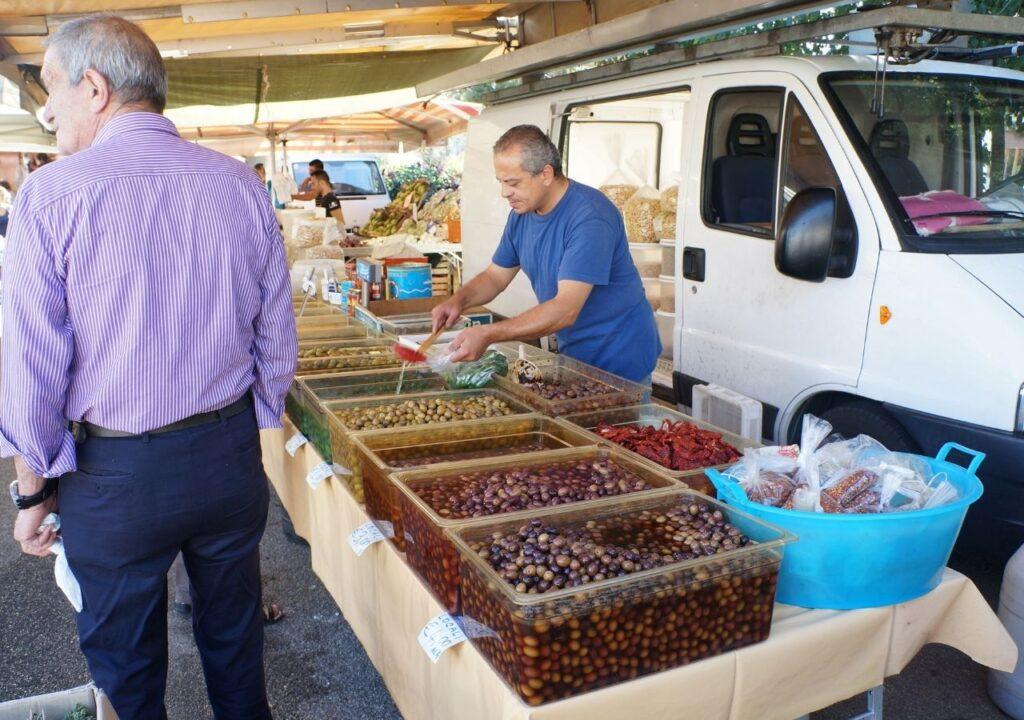 Rowerowa Apulia - lokalny targ