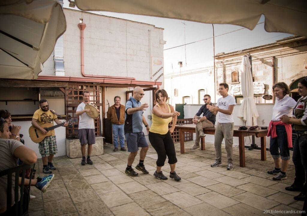 Rowerowa Apulia - tańce i pizza